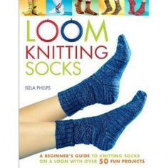 Free Knifty Knitter Sock Patterns Loom Knitting Socks: A Beginner's Guide to Knitting Socks on a Loom with Over 50 Fun Projects (No-Needle Knits) Knitting Loom Socks, Round Loom Knitting, Loom Knitting Stitches, Knifty Knitter, Knitting Videos, Knit Socks, Baby Knitting, Loom Knitting For Beginners, Cat Cross Stitches