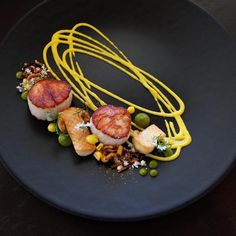 """4,675 Likes, 20 Comments - Chef's Roll, Inc. (@chefsroll) on Instagram: """"Scallops by @karloevaristo - #chefsroll #rollwithus"""""""