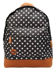 0db90684ec34 Mi-Pac Mi-Pac Rugzak All Stars Black White Girl Backpacks