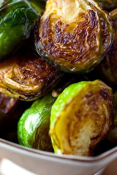 NYT Cooking: For delicious brussels sprouts, cook them in very hot oil. The cut side will sear, as will some of the leaves, resulting in a toasty, charred flavor that is irresistible, especially to children. Don't use an expensive olive oil for this dish. It should not have a strong flavor.