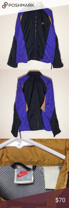 6265f9a39 Vintage 1990s Nike Windbreaker Jacket Good Condition Bundle IT IS  AVAILABLE! To see more visit
