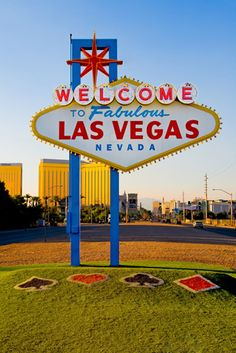 I dont think Ive evwr noticed this sign. We need a pic. Welcome To Vegas Sign