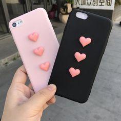 love plush super cute soft case for iphone 5 6 7 8 plus 10 X cover for samsung galaxy edge note 8 Iphone 3, Iphone 6 Cases, Coque Iphone, Iphone 8 Plus, Best Cell Phone, Best Smartphone, Cell Phone Covers, Portable Iphone, Looks Kawaii