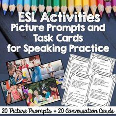 ESL Conversation Activities: Picture Prompts for Speaking Practice