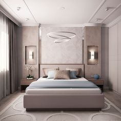 The Pitfall of Venetian Bedroom - Ceiling design Luxury Bedroom Design, Bedroom Bed Design, Home Interior Design, Bedroom Designs, Dream Master Bedroom, Home Bedroom, Bedroom Decor, Bedroom Ideas, Budget Bedroom