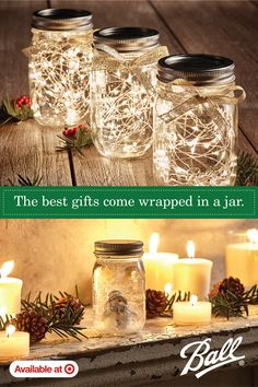 In this DIY tutorial, we will show you how to make Christmas decorations for your home. The video consists of 23 Christmas craft ideas. Homemade Christmas, Diy Christmas Gifts, Christmas Home, Holiday Crafts, Christmas Ornaments, Christmas Mason Jars, Mason Jar Gifts, Mason Jar Diy, Diy Weihnachten