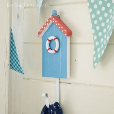 beach hut hook, hooks, seaside, beach, nautical