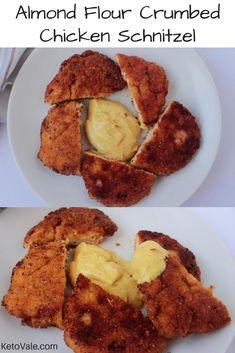 Almond Flour Chicken Schnitzel Recipe