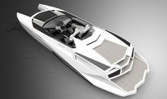 Reinvention V12 powerboat, speed boat, PROVOCOyachts design studio