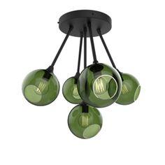Design By Us - Ballroom Molecule loftlampe - sort/green