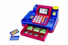 SOLD!!! Learning Resources Teaching Kids Cash Register W/ Lights, Sounds, Add Math Toys! - Wanna SELL items like this and more, CLICK this link http://makemoneywithebay.tk for your FREE VIDEO on HOW to make your FIRST Dollar Online with... No strings attached!