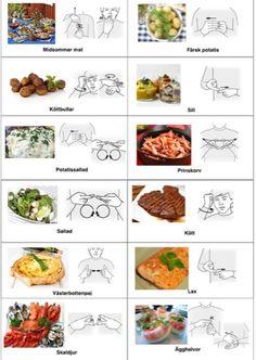 Midsommar-arkiv - Tecken som stöd - Toppbloggare på Womsa Learn Swedish, Swedish Language, Learn Sign Language, Toddler Activities, Healthy Cooking, Games For Kids, Sweden, Healthy Living, Education
