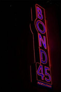Bond 45.  NYC