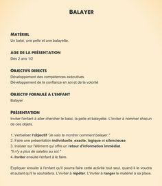 Balayer | Classe maternelle, Gennevilliers