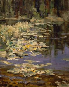 Mountain Lily Pond  by Mike Wise  mikewisestudio.com