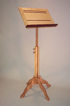 curly maple music stand | Flickr - Photo Sharing!