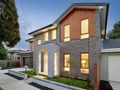 house facade timber render - Google Search