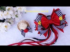 Hair Due, Hair Bow Tutorial, Making Hair Bows, Diy Hair Accessories, Girls Bows, Some Ideas, How To Make Bows, Ribbon Bows, Diy Hairstyles