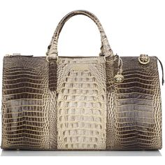 Brahmin Anywhere Weekender ($425) ❤ liked on Polyvore