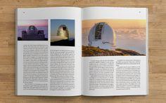 Diseño editorial. Libro. Memoria. Diseño y maquetación de libro (EST: Telescopio solar europeo) #sergiohp #libro #memoria  #diseñoeditorial www.sergiohp.com