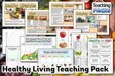 Help your children to make healthy choices with our pack of teaching resources. Includes a topic guide to discuss with your class, a range of activity resources and display materials to enhance the learning environment. Science Curriculum, Science Resources, Teaching Resources, Activities, Learning Environments, Healthy Choices, Healthy Living, Packing, Range