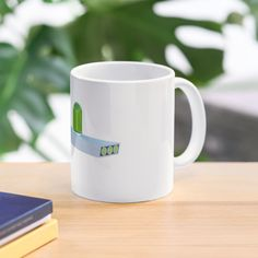 'Cisco Systems Logo Merchandise' Mug by Penny Voorhees Rick And Morty, Mug Designs, Sell Your Art, Dishwasher, Ceramics, Mugs, Tableware, Wraparound, Shapes
