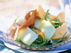 Prosciutto and Melon Salad with Cantaloupe Vinaigrette | Take your fruit servings beyond an apple a day with these recipes that earned our readers' top ratings.