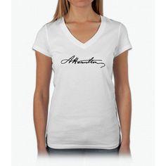 Hamilton Signature Hamilton Womens V-Neck T-Shirt
