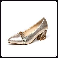 d0d1c85a50dadb LFNLYX Die Braut Schuhe Hochzeit Brautjungfer Schuhe für Damenschuhe hohe  Single Schuhe mit dicken mit Party