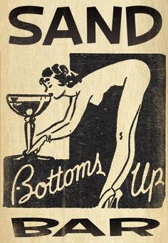 bottoms up matchbook graphic more vintage cocktailery can be found in the cheers section of my shop: https://www.etsy.com/shop/portraitsecrets