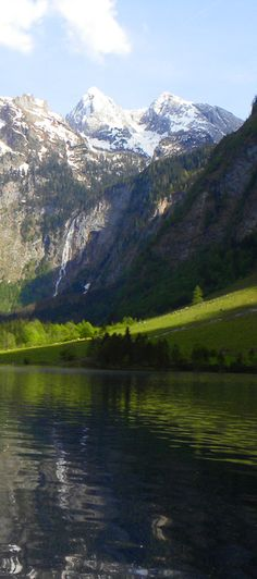 Views in Lake Konigsee, Germany: http://bbqboy.net/highlights-of-a-visit-to-berchtesgaden-and-lake-konigsee-germany/ #bertesgaden #germany