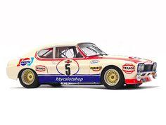 Ford Capri 2600 LV Pepsi Spa 1973 by SRC Slot Car Tracks, Slot Cars, Race Cars, Capri Tour, Ford Motorsport, Ford Capri, Audi Rs, Texaco, Ford Escort