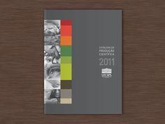 Catálogo da Produção Científica UFCSPA 2011 on Behance