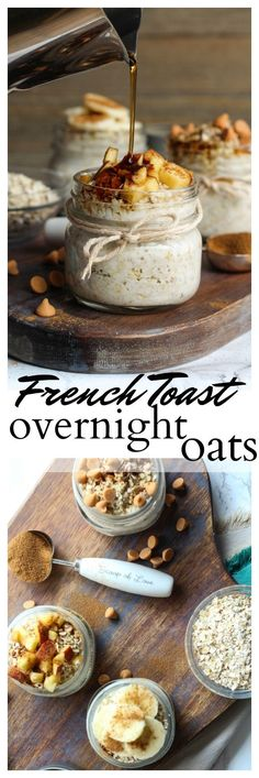 Ready for a no-fuss, kid-friendly, make-ahead breakfast that the whole family will love? Check out these Butterscotch French Toast Overnight Oats!