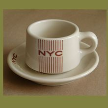"New York Central Railroad ""Mercury"" China Cup & Saucer Set by Shenango - FOR SALE on RUBY LANE !"