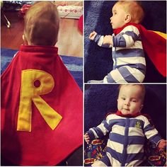 Sweet Super Ryan is one handsome TinySuperhero ❤ Grateful to have such an amazing, growing squad! http://qoo.ly/d769t