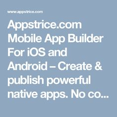 We can build the app for you or you can do it yourself there are make an app with easy mobile app builder best diy free app builder software solutioingenieria Choice Image