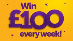Peachy £100  Weekly Giveaway!