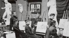 Pratt Institute, New York, in the Painters Studio, Pratt Institute, Ecole Art, Art Classroom, Color Theory, Art Studios, Artist At Work, Art School, Great Artists