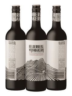 wine label  rolling hills