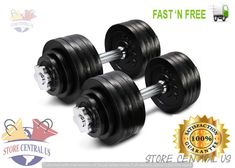 7858ef6338a Ad(eBay) Yes4All Adjustable Dumbbells 105lbs