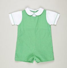 infant checked shortall