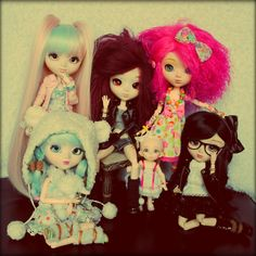 Photo de famille / My doll's familly