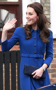 Duchess of Cambridge visits the Anna Freud Centre for Children and Families