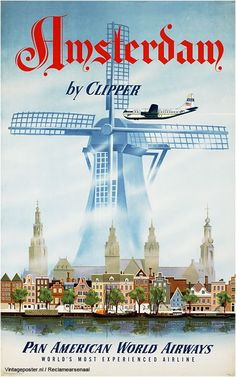 Holland. Travel poster