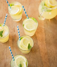 In celebration of these long summer days, we found 7 of the prettiest, tastiest lemonade recipes .