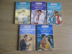 5 x Rosemary Hammond Mills & Boon Romance Novels: TITLES: 1. Castles in the Air;