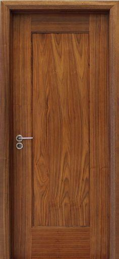 Shaker 1 Panel Walnut Door (40mm)   Internal Doors   Walnut Doors - door store £116