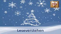 Türchen 10: Ruhe in der Weihnachtszeit - Leseverstehen