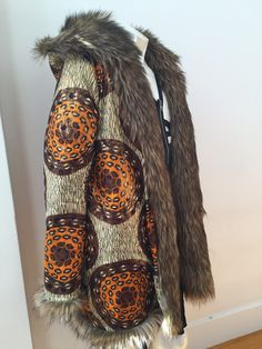 MADE TO ORDER reversible fur COAT Hand crafted with love in San Francisco.  This listing is for a custom order made with your measurements. Fur and